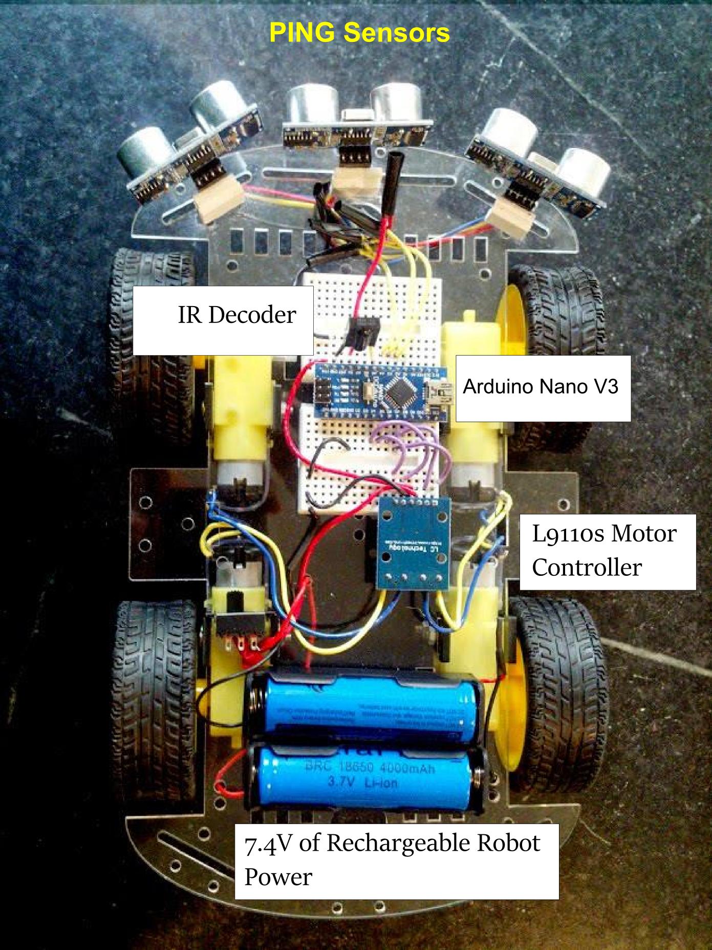 Arduino bald wisdom for Arduino nano motor control